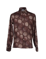 Havana And Co. Shirts Brown