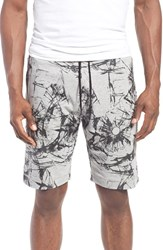Men's Antony Morato Bullet Hole Print Fleece Shorts