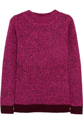 Matthew Williamson Color Block Knitted Sweater Pink
