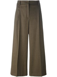 Odeeh Wide Leg Culottes Brown