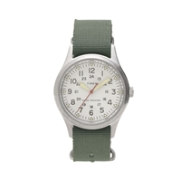 Timex For J.Crew Vintage Field Army Watch Deep Olive