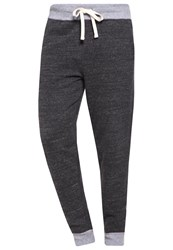 Gap Marl Tracksuit Bottoms Dark Charcoal Heather Anthracite