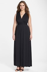 Plus Size Women's Tart 'Infinity' Cross Back Maxi Dress