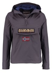 Napapijri Rainforest Palatine Waterproof Jacket Volcano Dark Grey