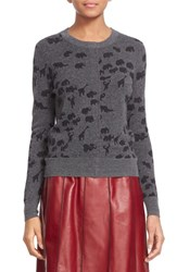Women's Marc Jacobs Animal Jacquard Cashmere Sweater