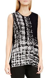 Vince Camuto Women's Abstract Print Sleeveless Top