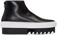 Givenchy Black Platform High Top Sneakers