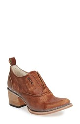 Freebird Women's By Steven 'Sadie' Bootie Cognac Leather