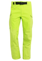 Patagonia Reconnaissance Waterproof Trousers Peppergrass Light Green