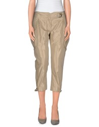 Ermanno Scervino Trousers 3 4 Length Trousers Women Beige