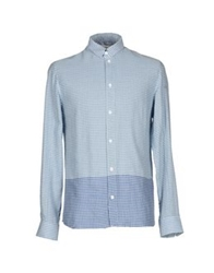 Eleven Paris Shirts Slate Blue
