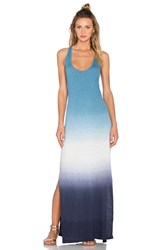 Soft Joie Narda Ombre Maxi Dress Blue