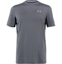Under Armour Coolswitch Stretch Jersey T Shirt Gray