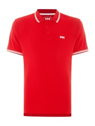 Helly Hansen Kos Short Sleeve Polo Valentino Red