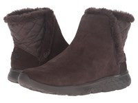 Skechers On The Go Cozies Chocolate Women's Pull On Boots Brown