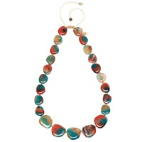 Lola Rose Quentin Necklace Red Agate