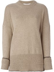 Givenchy Relaxed Fit Sweater Nude And Neutrals