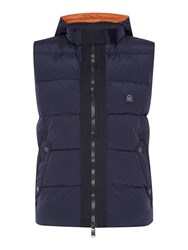 Duck And Cover Project Gilet Dark Navy
