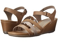 Ecco Touch 45 Wedge Sandal Navajo Brown Moon Rock Navajo Brown Women's Wedge Shoes