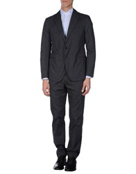 Piombo Suits And Jackets Suits Men Steel Grey