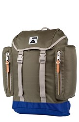 Poler Stuff Men's Rucksack Backpack Green Burnt Olive