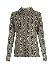 Sophie Theallet Joline Prince Of Wales Checked Shirt Black White