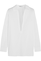 Alexander Wang Cotton Poplin Shirt White