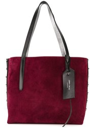 Jimmy Choo 'Twist East West' Shopper Tote Pink Purple
