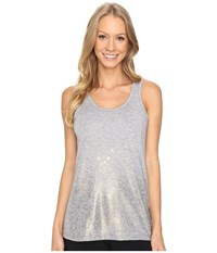 Brooks Distance Tank Top Heather Oxford Sol Shine Women's Sleeveless Silver