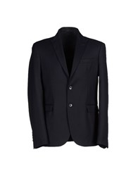 Fdn Suits And Jackets Blazers Men Dark Blue