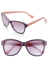 Ivanka Trump 57Mm Sunglasses Purple