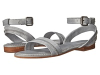 Frye Phillip Seam Ankle Ice Soft Vintage Leather Women's Sandals Gray