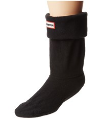 Hunter Short Boot Socks Black Women's Crew Cut Socks Shoes