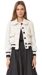 Marc Jacobs Cropped Jacket Cream