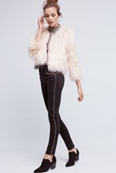 Anthropologie Paige Amberly High Rise Skinny Jeans Black
