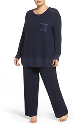 Midnight By Carole Hochman Plus Size Women's Knit Pajamas