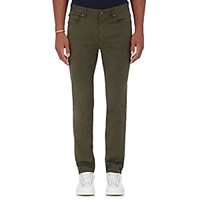 Michael Kors Men's Twill Five Pocket Pants Green