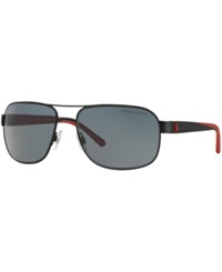 Polo Ralph Lauren Sunglasses Polo Ralph Lauren Ph3093 62 Black Matte Grey Polar