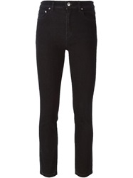 Marc By Marc Jacobs Cropped Skinny Jeans Black