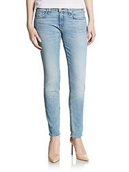 Rag And Bone The Skinny Acid Wash Jeans Acid Blue