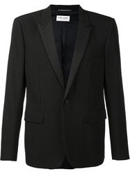 Saint Laurent 'Iconic Le Smoking' Jacket Black