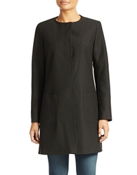 Tahari Knit Topper Coat