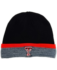 Under Armour Texas Tech Red Raiders Sideline Cgi Knit Hat Gray Red Navy