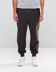 Weekday Central Cargo Trousers Dark Grey Dark Dark Grey Blue