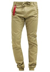 Alpha Industries Kerosene Trousers Sand