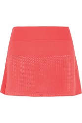 Lija Pursuit Flounce Stretch Jersey Skirt Orange