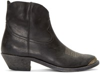 Golden Goose Charlye Cowboy Ankle Boots