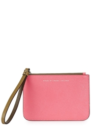 Marc By Marc Jacobs Sophisticato Pink Leather Wallet