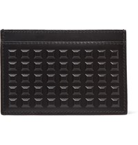 Balenciaga Studded Leather Cardholder Black
