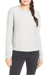 Articles Of Society Women's 'Amy' Crewneck Sweatshirt Light Grey